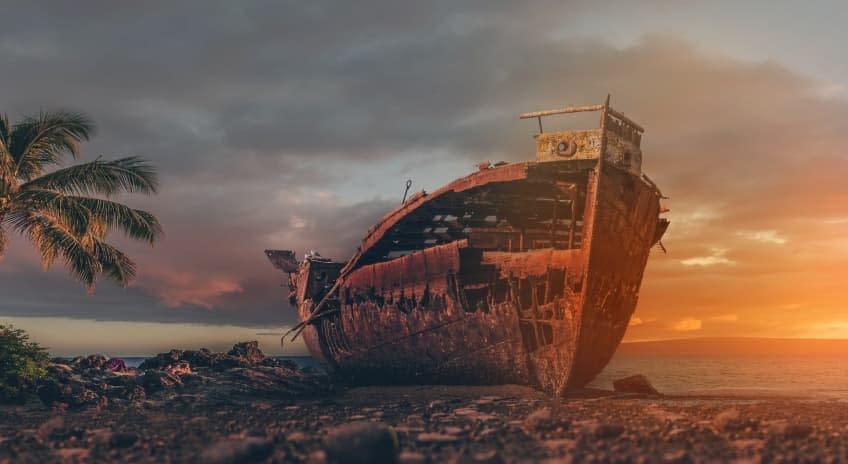 Fine art photography boat hd
